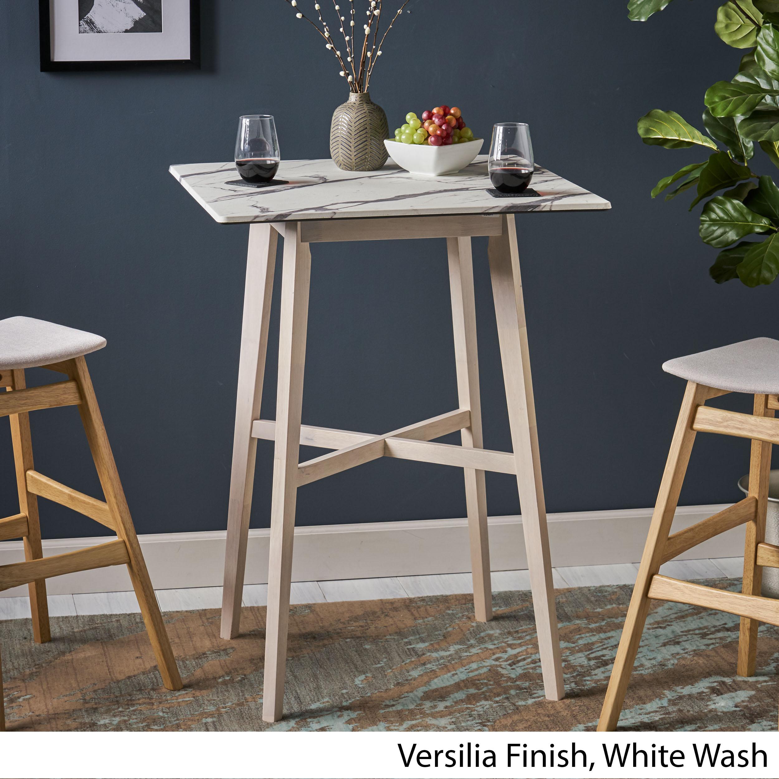 thumbnail 10 - Daisy-Modern-Resin-Square-Bar-Table