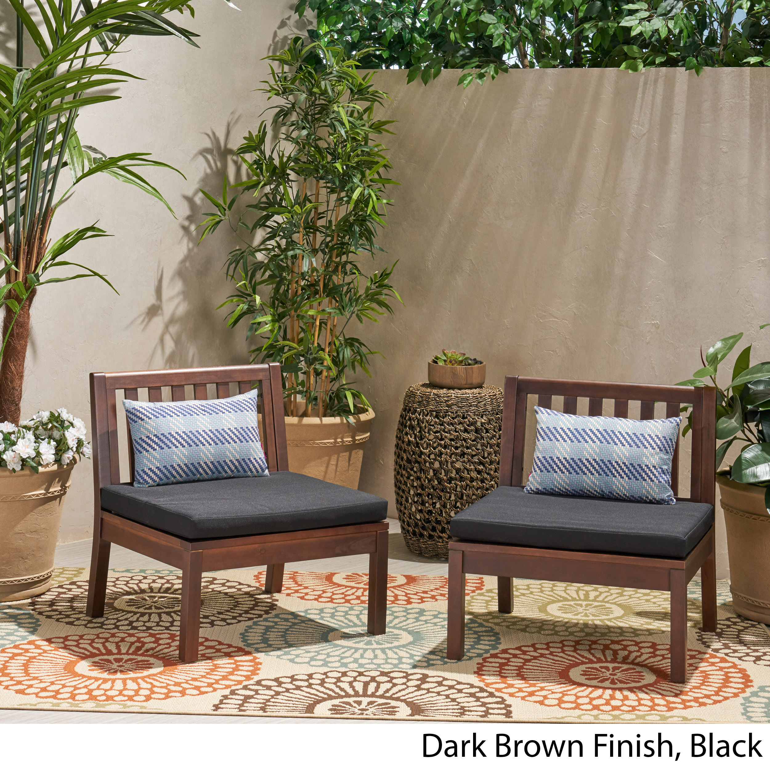 Ikea Askholmen Chair Outdoor Gray Brown Foldable Solid Acacia Wood Set Of 2 For Sale Online Ebay