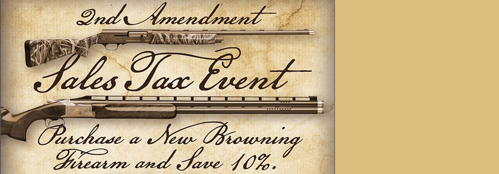Browning Sales Tax Event 2018
