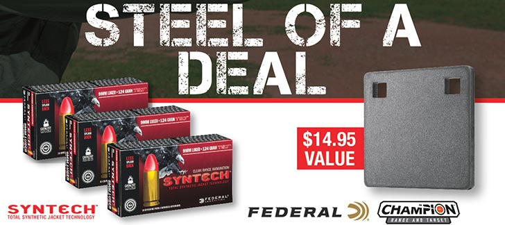 FEDERAL RANGE READY SAVINGS STEEL OF A DEAL