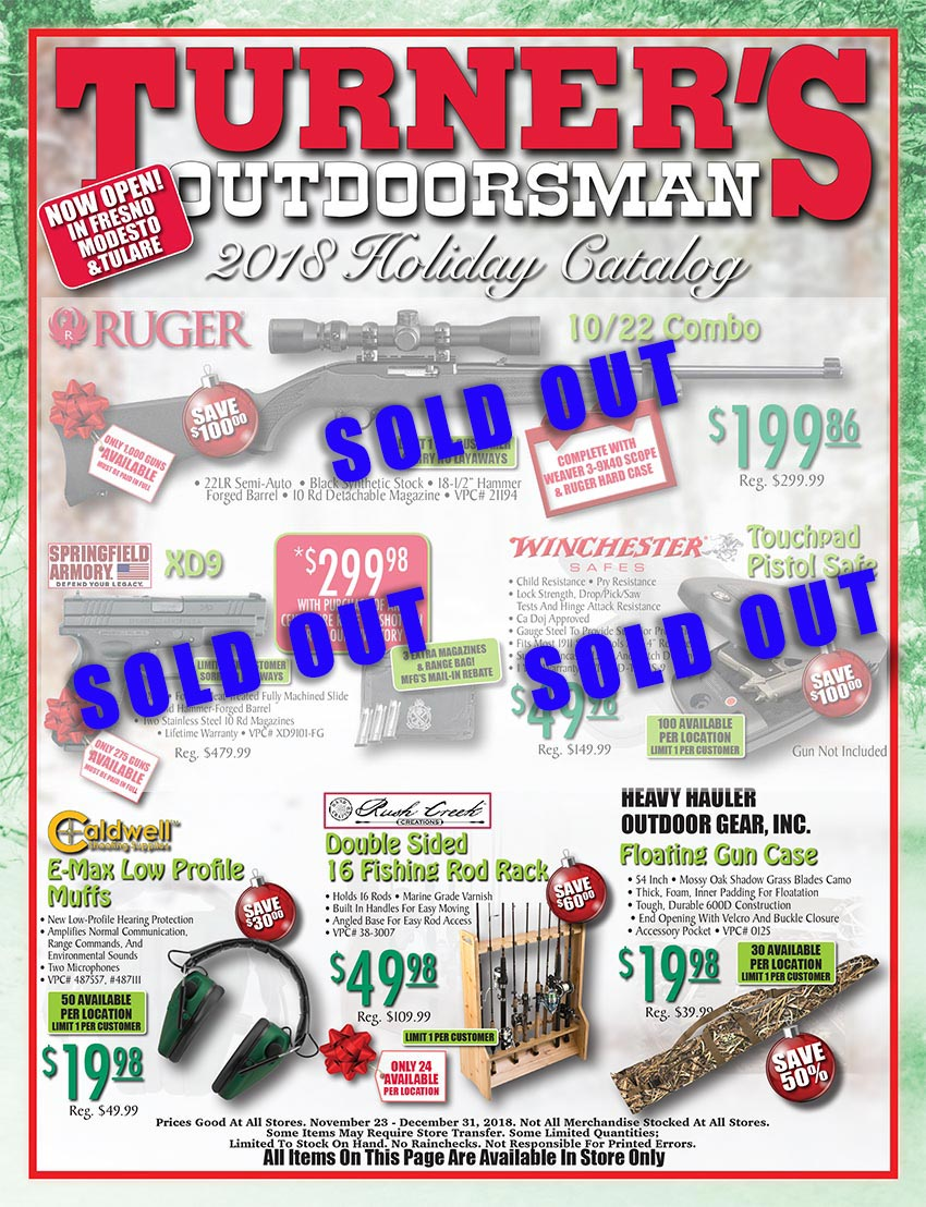 2018 holiday flyer page 1 turner s outdoorsman