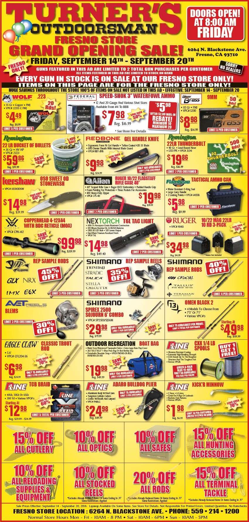 Fresno Grand Opening Sale - STARTS FRIDAY, September 14th! page 2