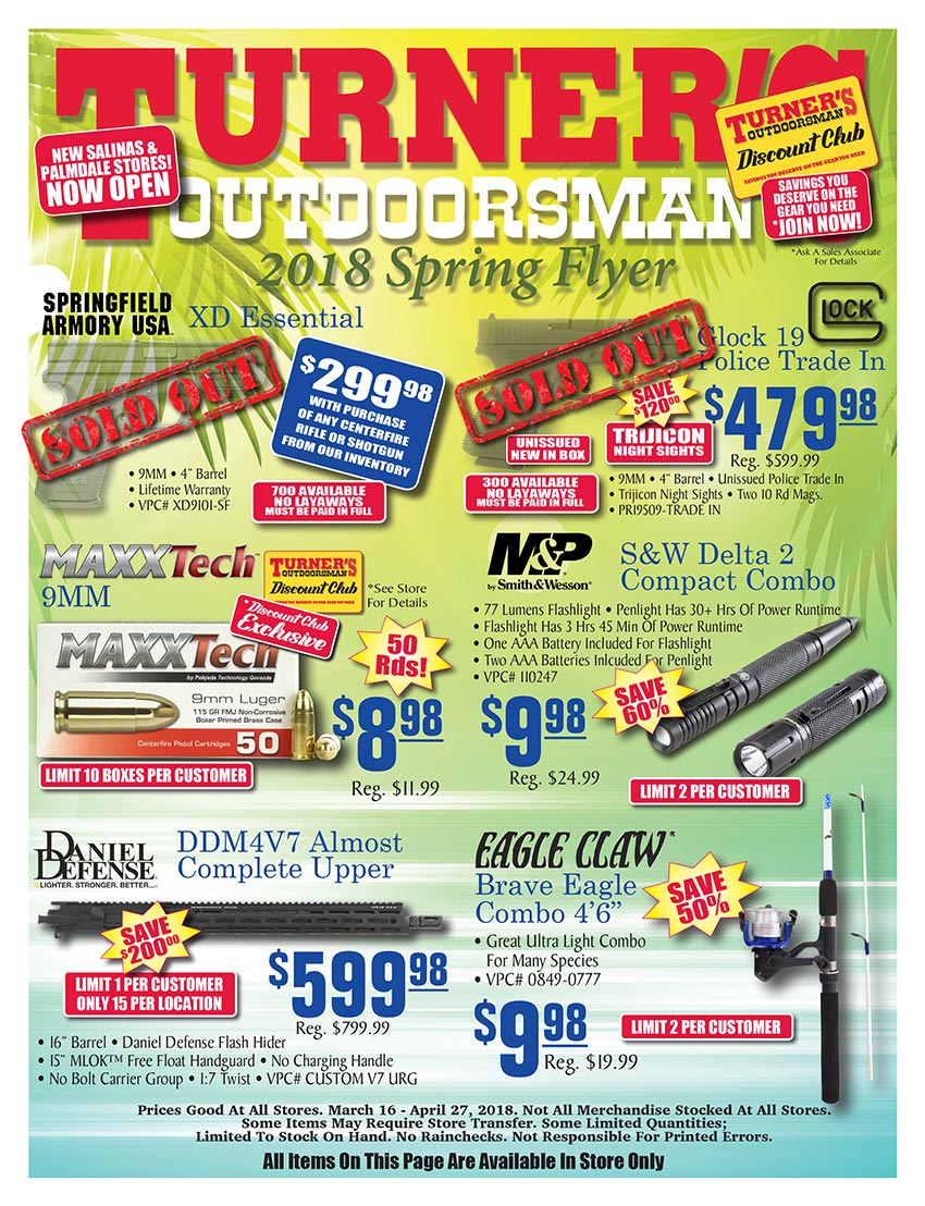 2018 Spring Flyer Page 1