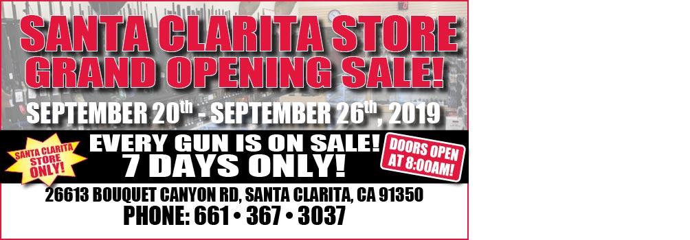 Santa Clarita Now Open