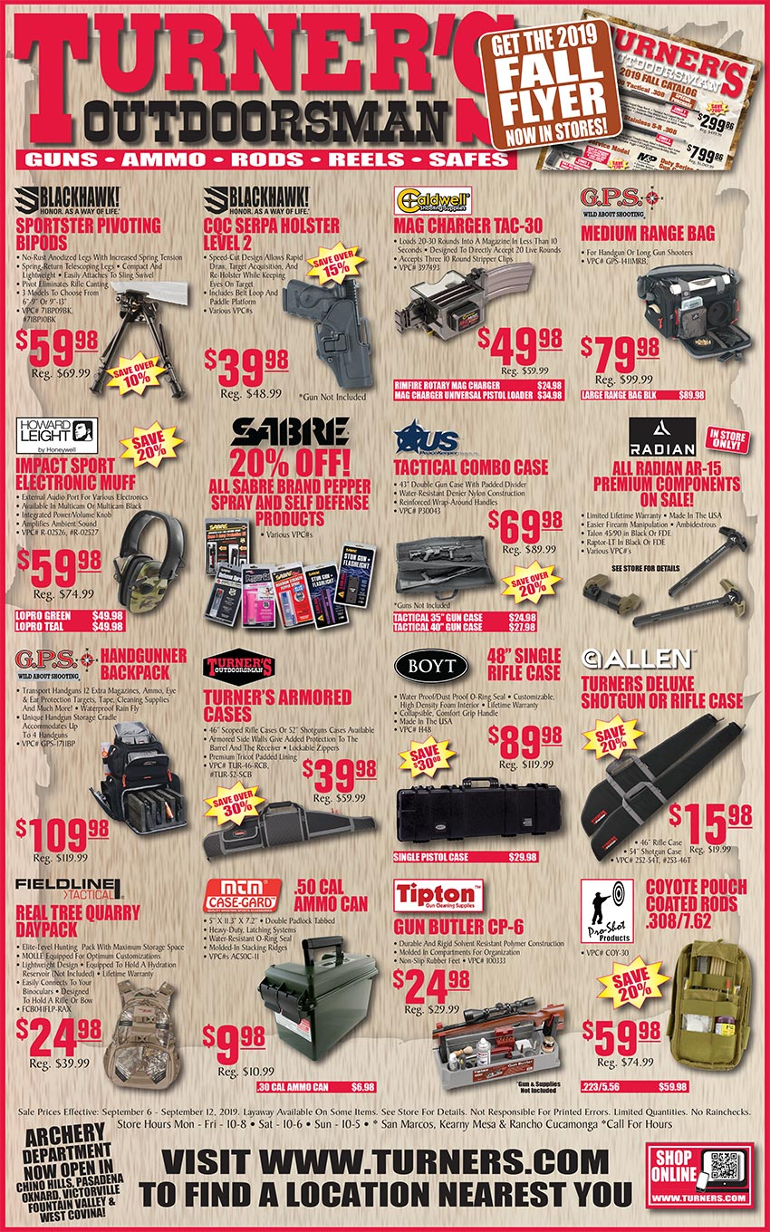 Weekly Ad 2 | Turner's Outdoorsman