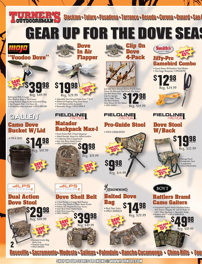 2019 Fall Flyer Page 2 | Turner's Outdoorsman