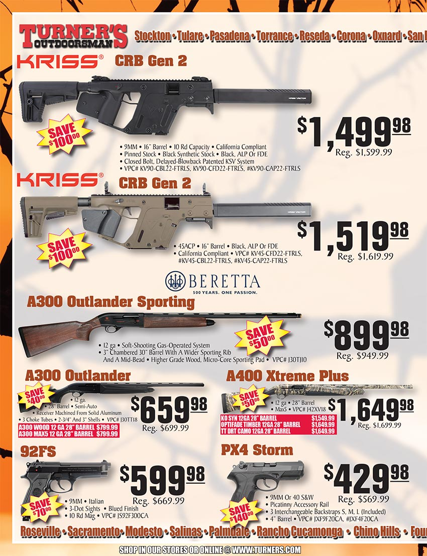 2019 Fall Flyer Page 26 | Turner's Outdoorsman