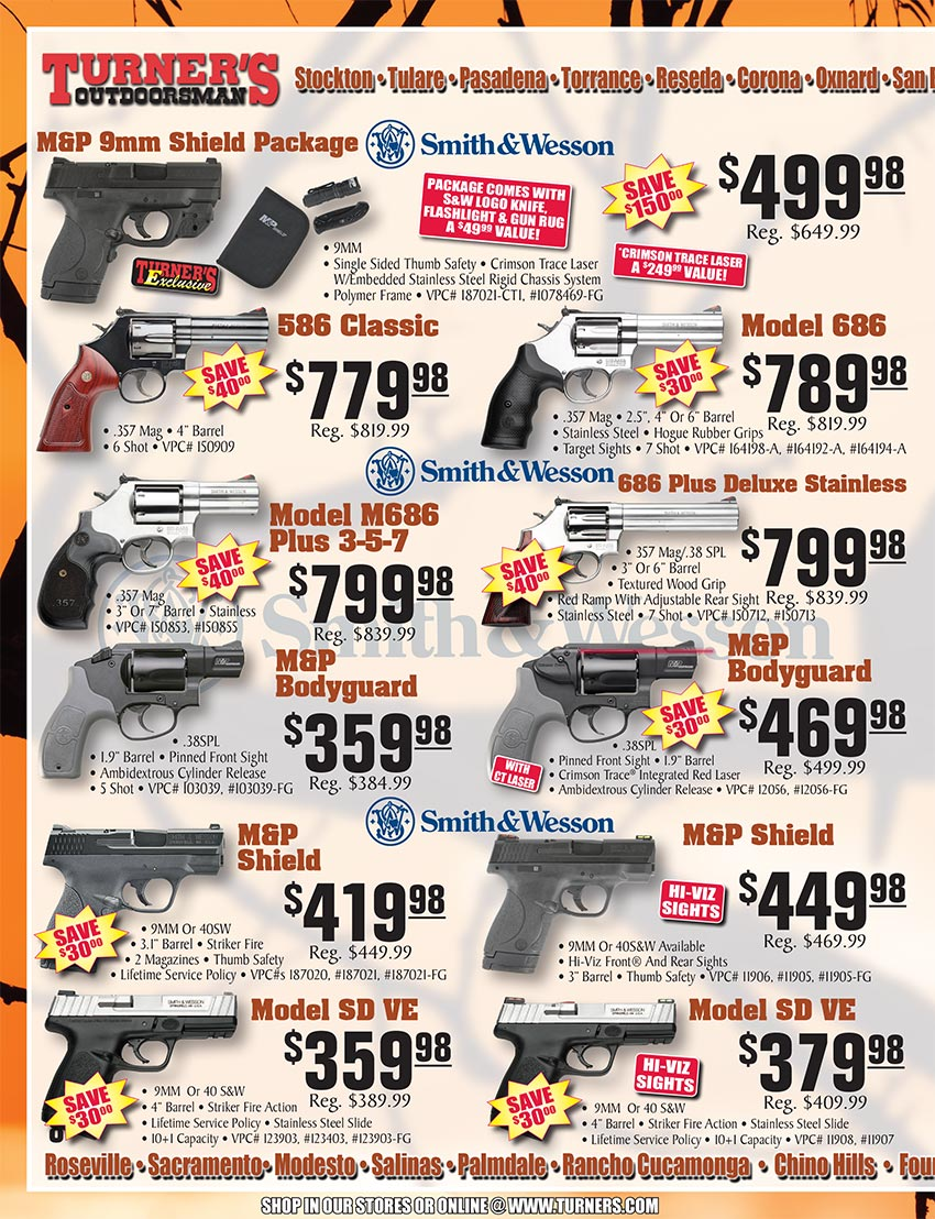 2019 Fall Flyer Page 8 | Turner's Outdoorsman