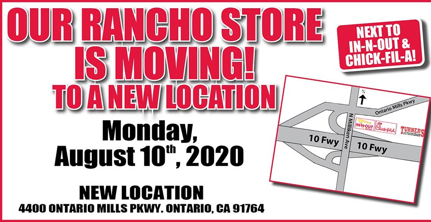 Rancho store move to Ontario