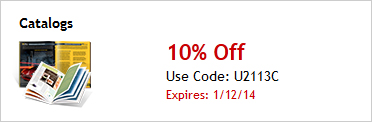 10% Off Catalogs