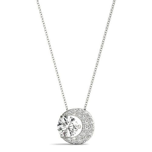 Yadav Star and Moon Diamond Pendant