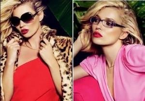 Kate Moss - Vogue Eyewear spring summer eyewear collection in 2011