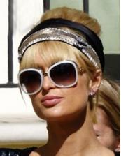 Paris Hilton sunglasses