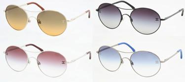 round sunglasses color