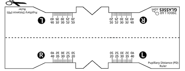 graphic about Printable Pd Ruler named WHAT IS PUPILLARY Length?