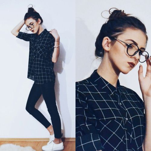 20 Cute Hipster Outfits With Glasses