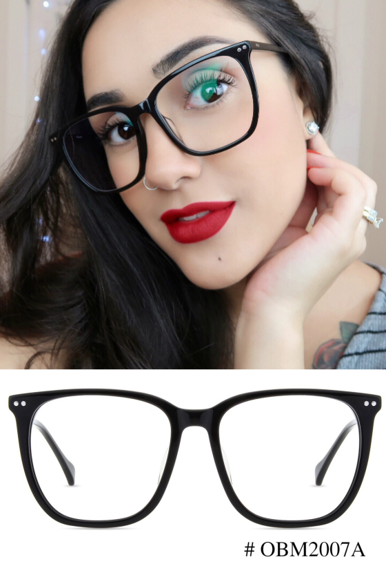 a9d7c16a641 This year s silhouette borrows the retro-vintage vibe with quite thick  frames. These classic square-style frames have a certain star quality about  them