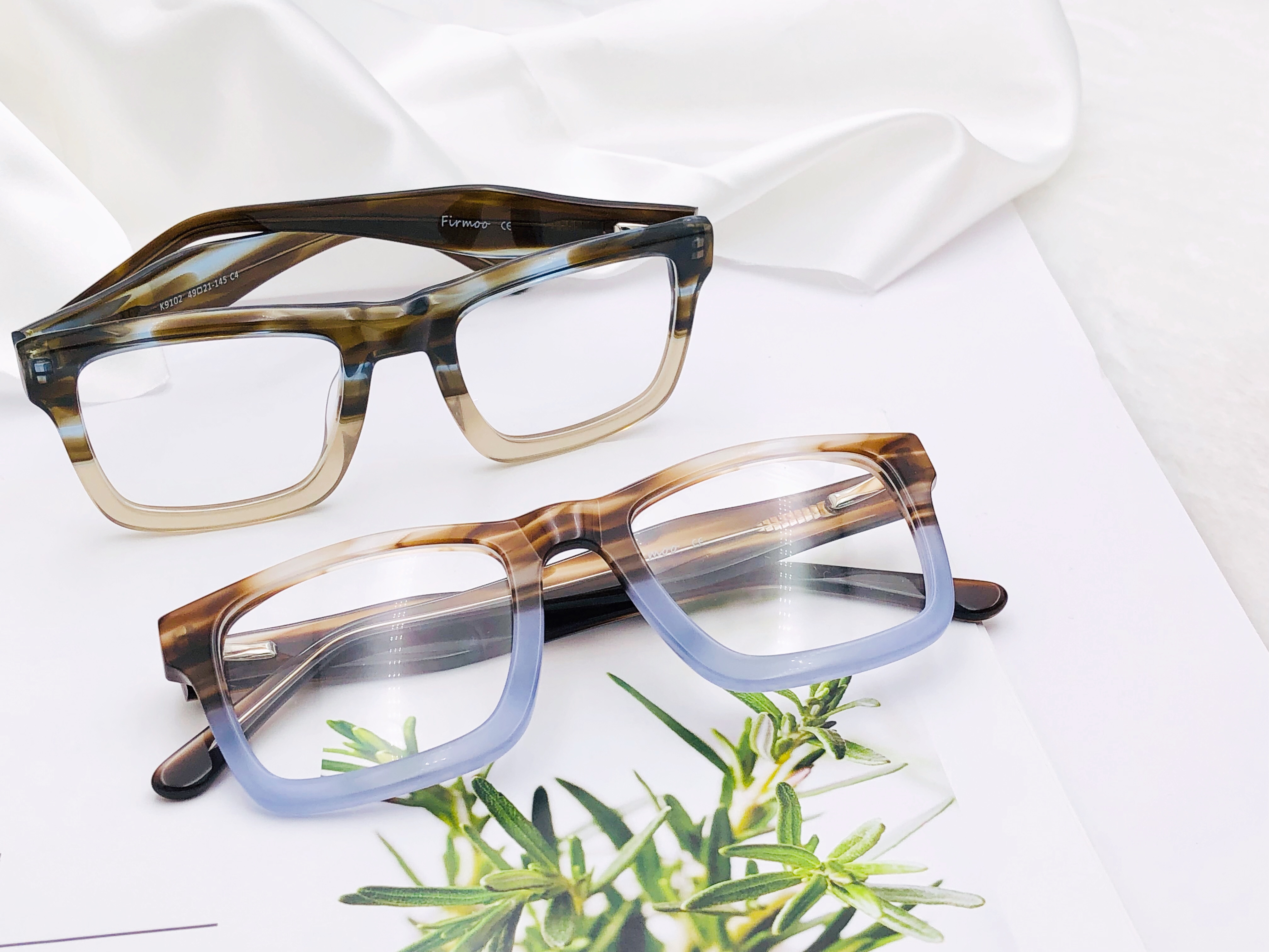 e0300deb5c9c Rectangle frames never go out of style. This season, we highly welcome  #K9102A. Designed with a cool, laid-back and androgynous appeal, these  funky glasses ...