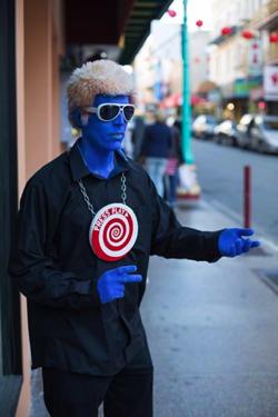 Blue Man Fu in Chinatown, San Francisco