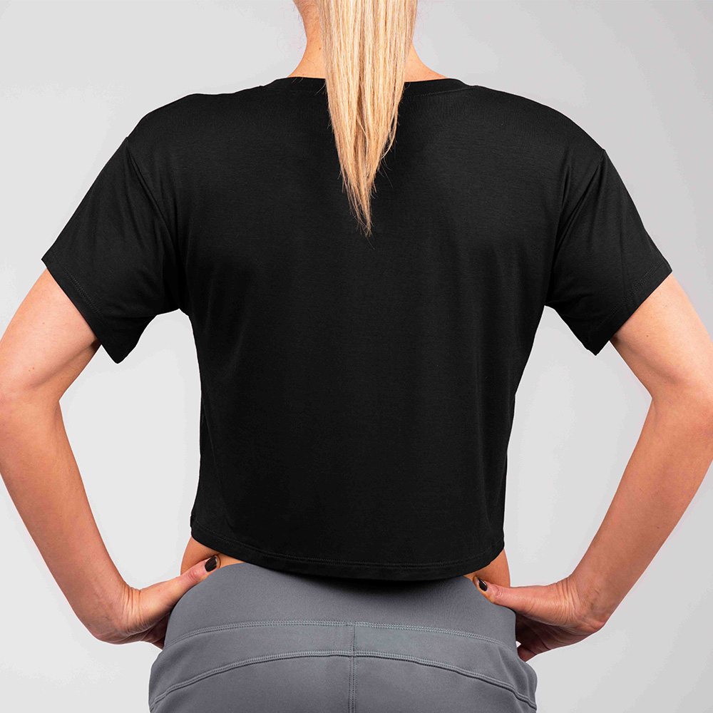 Women's Loose Fit Cropped T-shirt