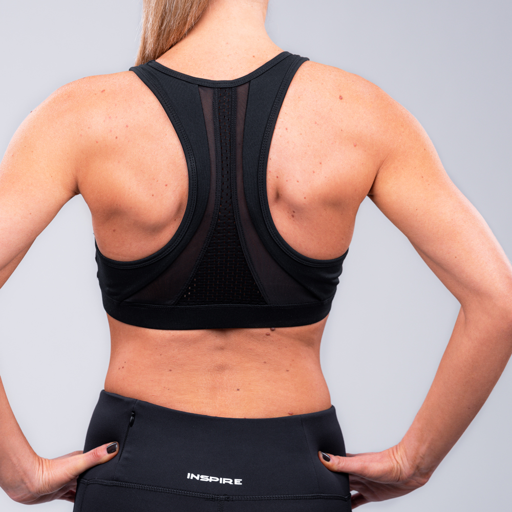 Women's Mesh Back Sports Bra