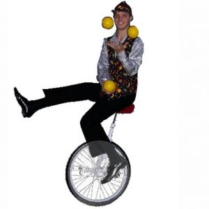 Unicyclist Image 1 - Inspire Productions