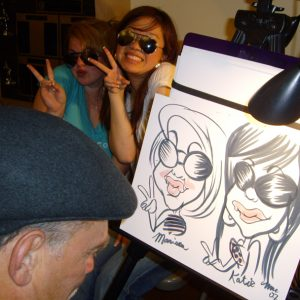 Caricature Artists - Inspire Productions