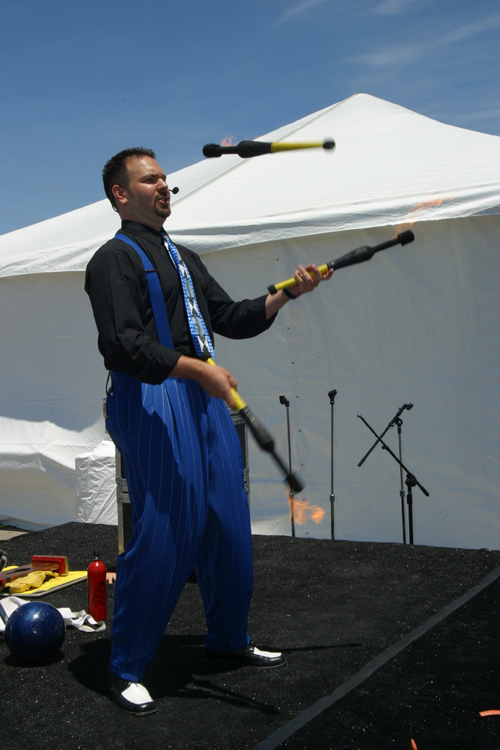 Juggler Fire - Inspire Productions