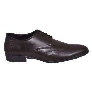 KOXA, Formal Shoes for Men Leather Formal Shoes Brown