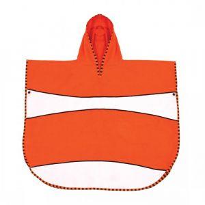 LITTLE LIFE,Ultralight Poncho Towel, Clownfish