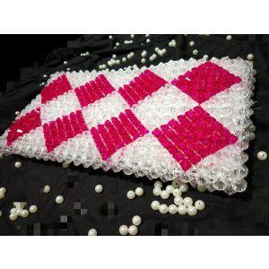 White Pink Crystal Bag - SHOP-PWS-011