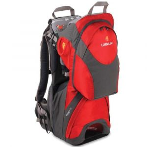 LITTLE LIFE,Voyager S3 Child Carrier, Red