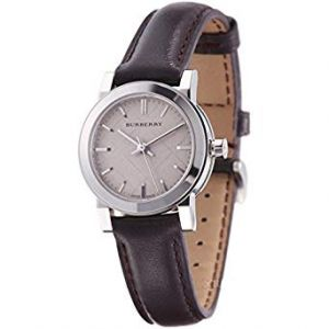 Burberry BU9208 Women's Brown Leather Strap Cream Dial Watch