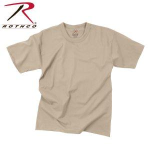 ROTHCO KIDS T-SHIRT -100% COTTON / DESERT SAND