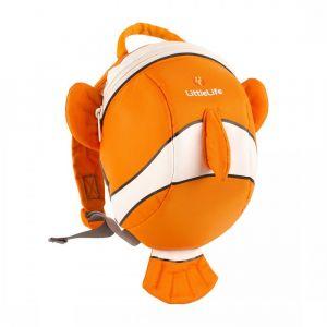 LITTLE LIFE,Animal Toddler Daysack, Clownfish