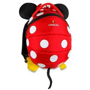 LITTLE LIFE,Disney Toddler Backpack, Minnie..