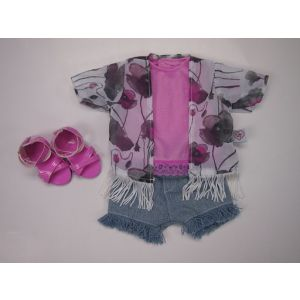 ROLL UP KIDS Cool Kimono Outfit