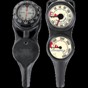 Zeagle Slimline Co-Pilot Console-Metric,Regulator