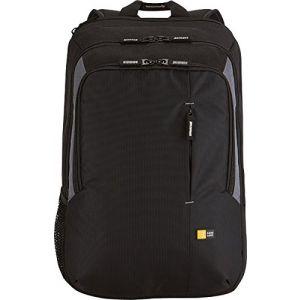"""Case Logic Value Backpack 17"""" Black"""