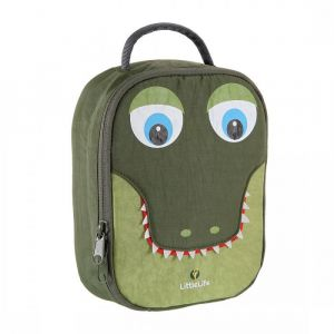 LITTLE LIFE,Animal Lunch Pack, Crocodile..