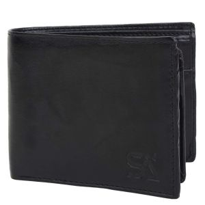 Brown Men's PU Leather Wallet AI-90