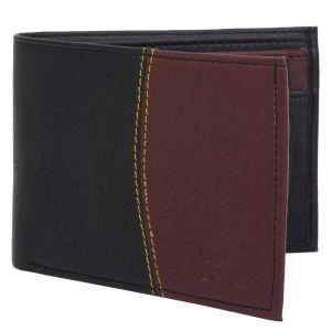 Black Men's PU Leather Wallet AI-82