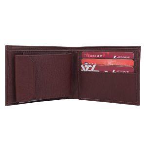 Brown Men's PU Leather Wallet AI-77