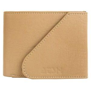 Tan Men's PU Leather Wallet AI-17