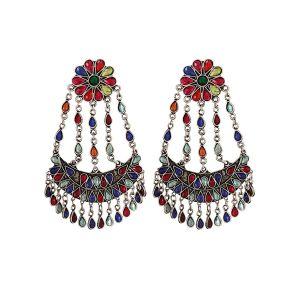 The Malifionna Multi Dangler Jhumki Earrings For Women.