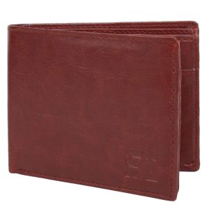 Brown Men's PU Leather Wallet AI-89