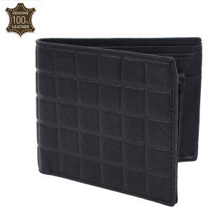Men's Genuine Leather Wallet Black AI-21