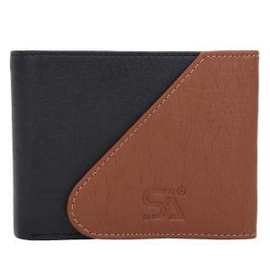 Tan Men's PU Leather Wallet AI-95