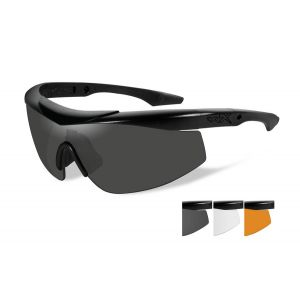 WILEY X ,TALON ADVANCED GREY/CLEAR/RUST/MATTE BLACK FRAME