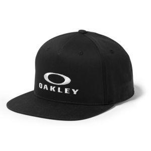 OAKLEY Sliver 110 Flexfit Hat  Jet Black  Osfa